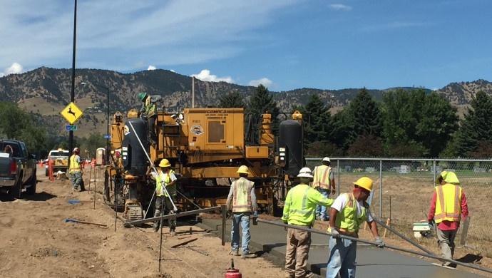Diagonal (SH 119) Reconstruction from 28th Street to Independence