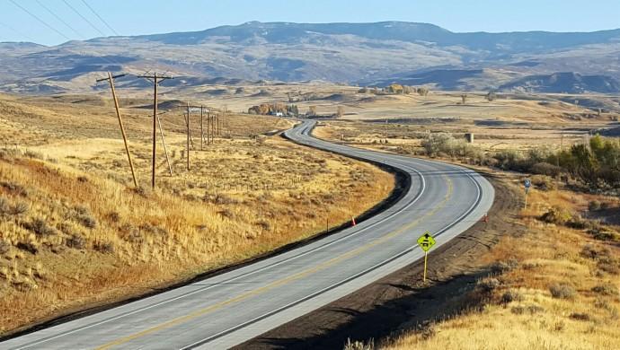 SH 13 North of Craig